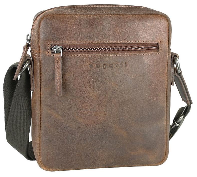 Bugatti Kožená taška na doklady SEGNO 49548007 koňak