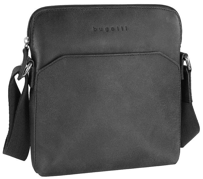 Bugatti Kožená taška na doklady SEGNO 49548201 černá