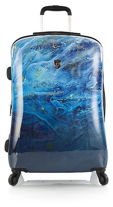 Heys Skořepinový kufr Blue Agate M 13071-3160-26 modrý