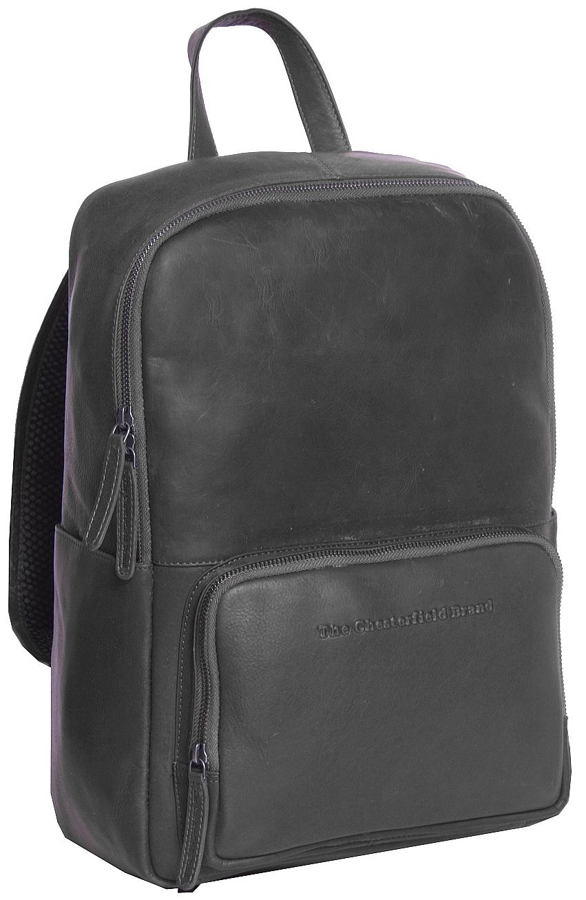 The Chesterfield Brand Kožený batoh na notebook Ari C58.016300 černý