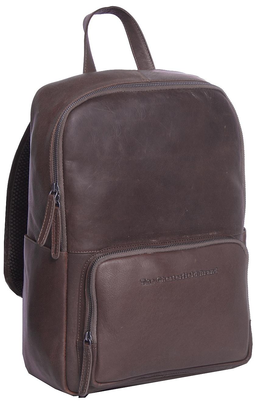 da9e2798055 The Chesterfield Brand Kožený batoh na notebook Ari C58.016301 hnědý