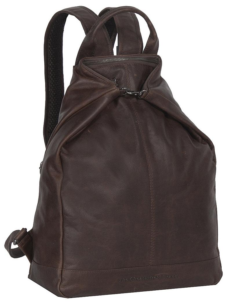 ea4117fe0b5 The Chesterfield Brand Dámský kožený batoh do města Manchester C58.014101  hnědá