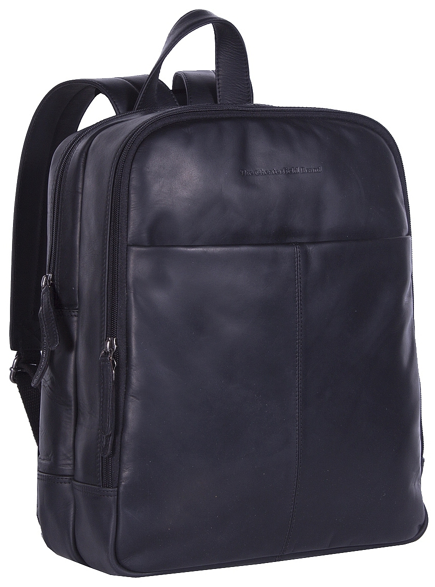 1061a85cdd The Chesterfield Brand Kožený batoh na notebook DEX C58.017500 černý