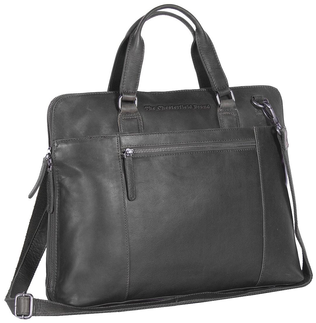 The Chesterfield Brand Dámská business kabelka na notebook L Hana C48.061300 černá