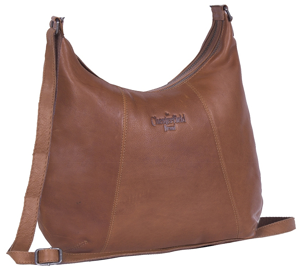 The Chesterfield Brand Kožená kabelka přes rameno Jolie C48.061031 koňak 9ba3c47a793