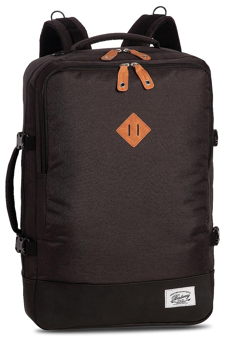 BestWay Palubní zavazadlo - palubní batoh 40223-1701 CABIN PRO RETRO tmavě šedý