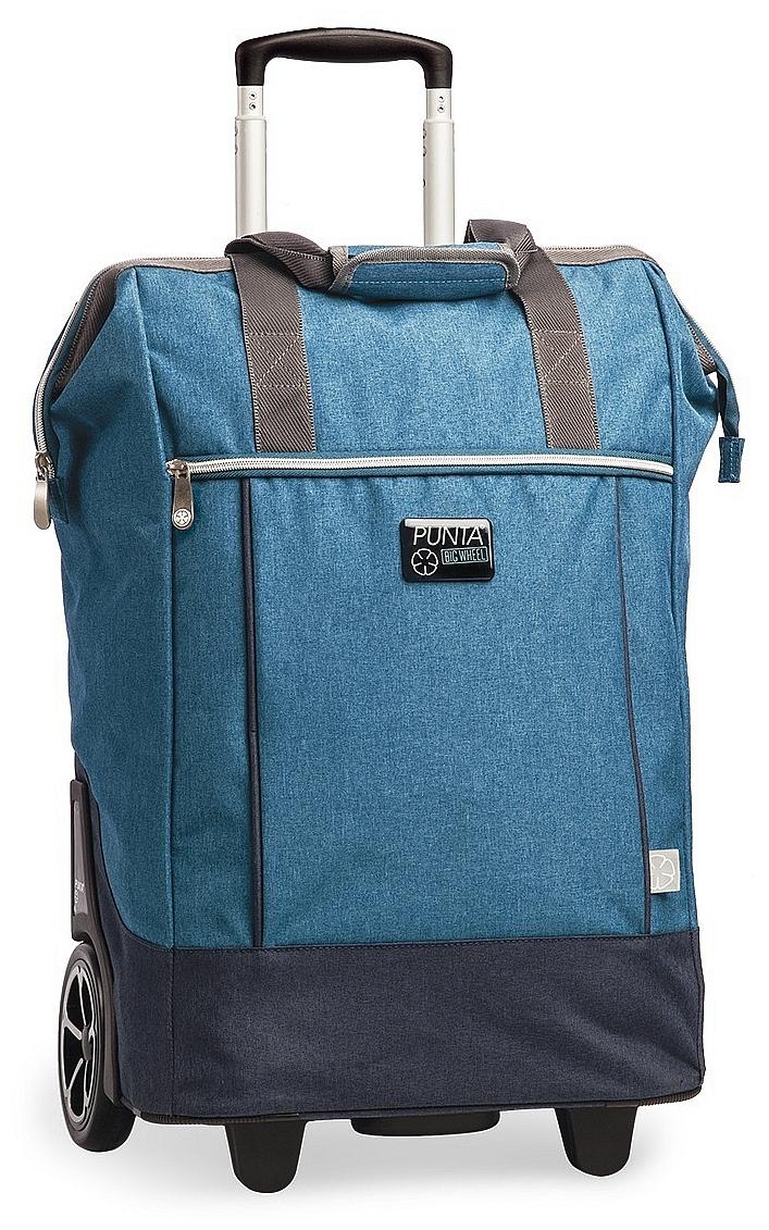 PUNTA wheel Velká nákupní taška na kolečkách 10303-4600 modrá