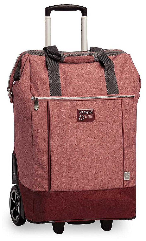 PUNTA wheel Velká nákupní taška na kolečkách 10303-0300 červená