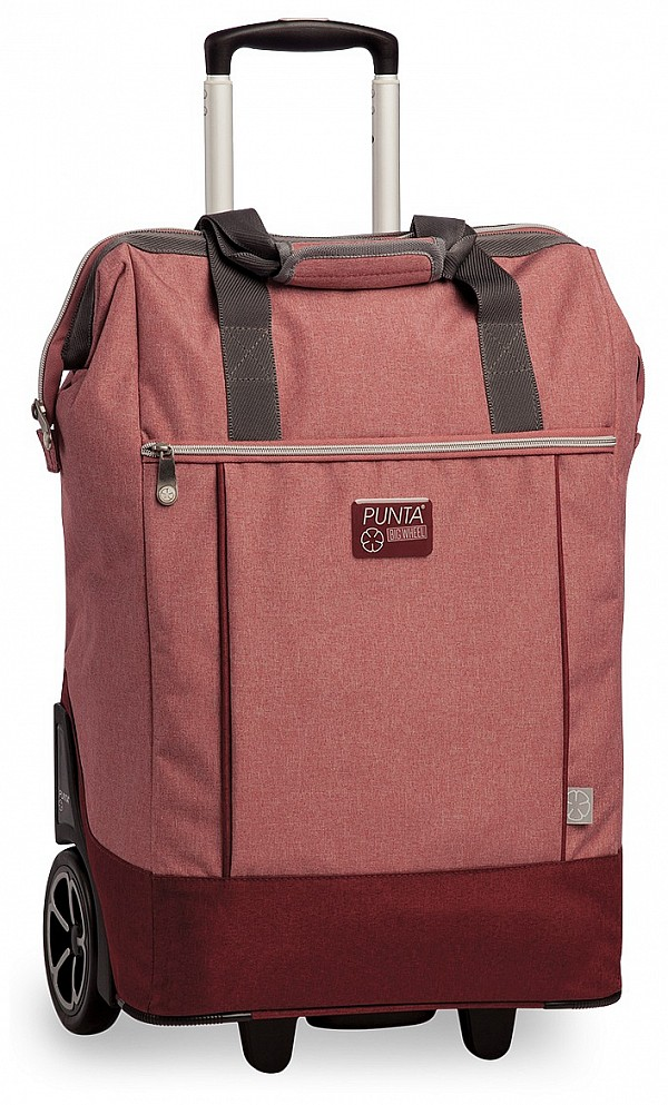 ece141353dc PUNTA wheel Velká nákupní taška na kolečkách 10303-0300 červená ...