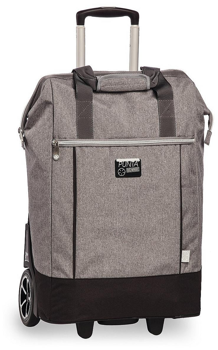 PUNTA wheel Velká nákupní taška na kolečkách 10303-2800 šedá