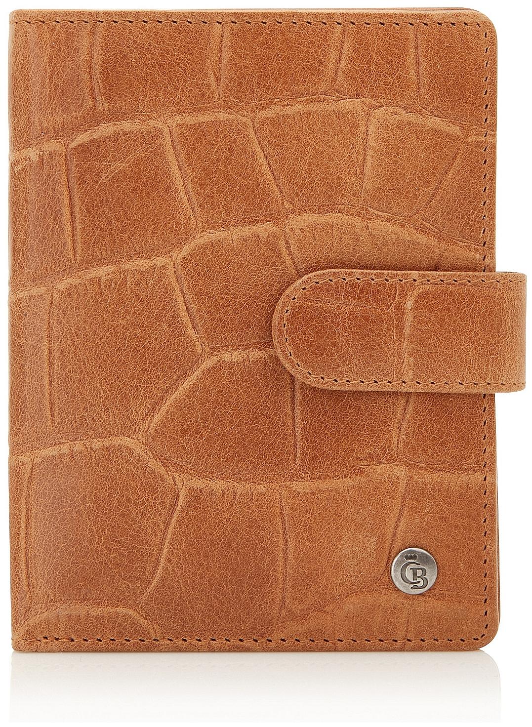 Castelijn & Beerens Dámská kožená peněženka RFID 465415 LB koňak