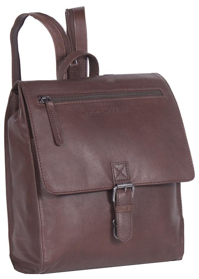 ad6eff7fde4 The Chesterfield Brand Dámský kožený batoh Isa C58.016501 hnědý