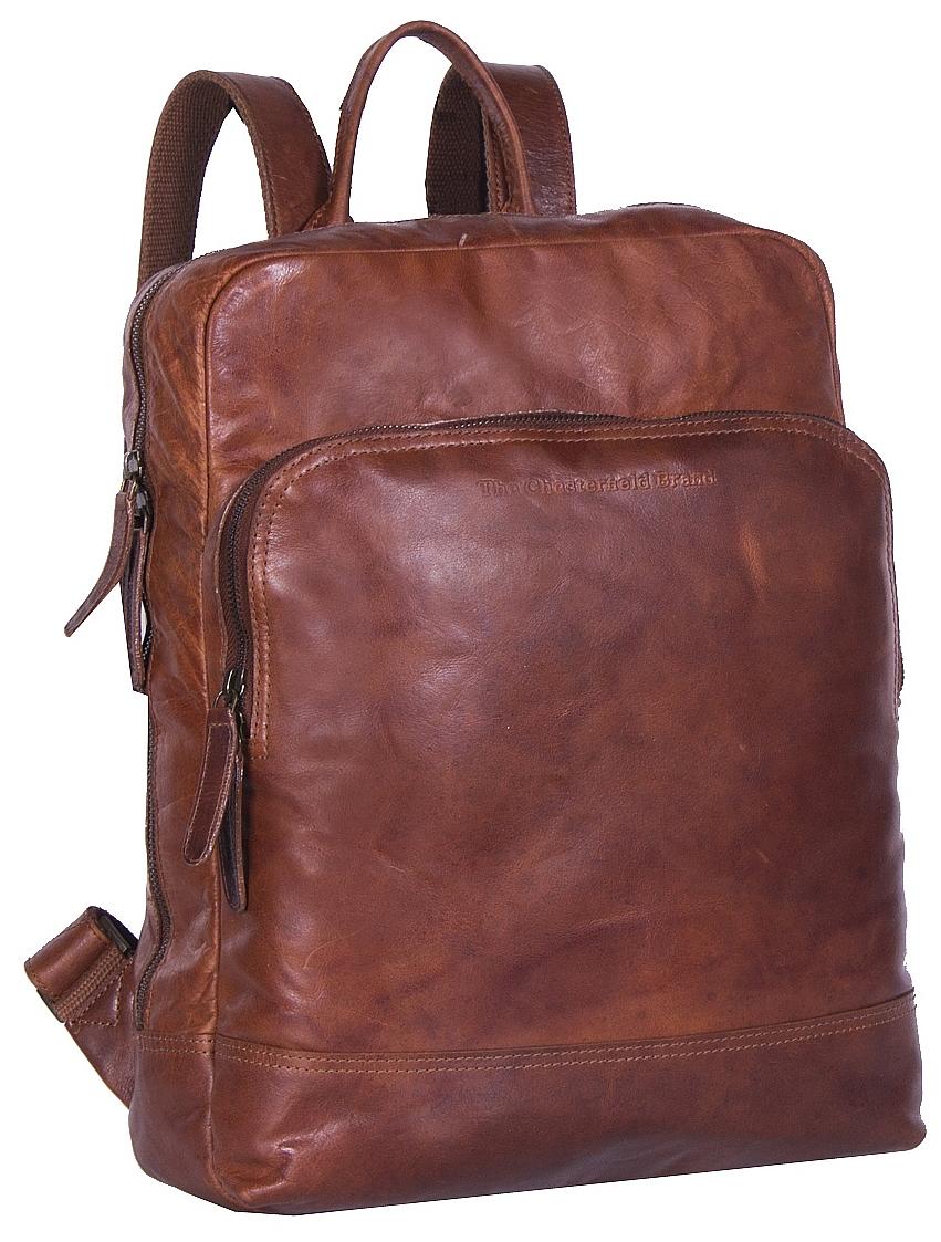 2509b3e12e The Chesterfield Brand Kožený batoh na notebook Mack C58.017231 koňak