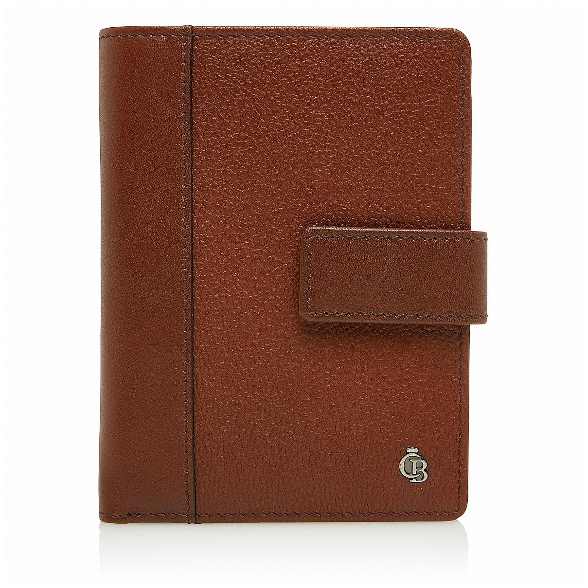 Castelijn & Beerens Pánská kožená peněženka RFID 695415 koňak