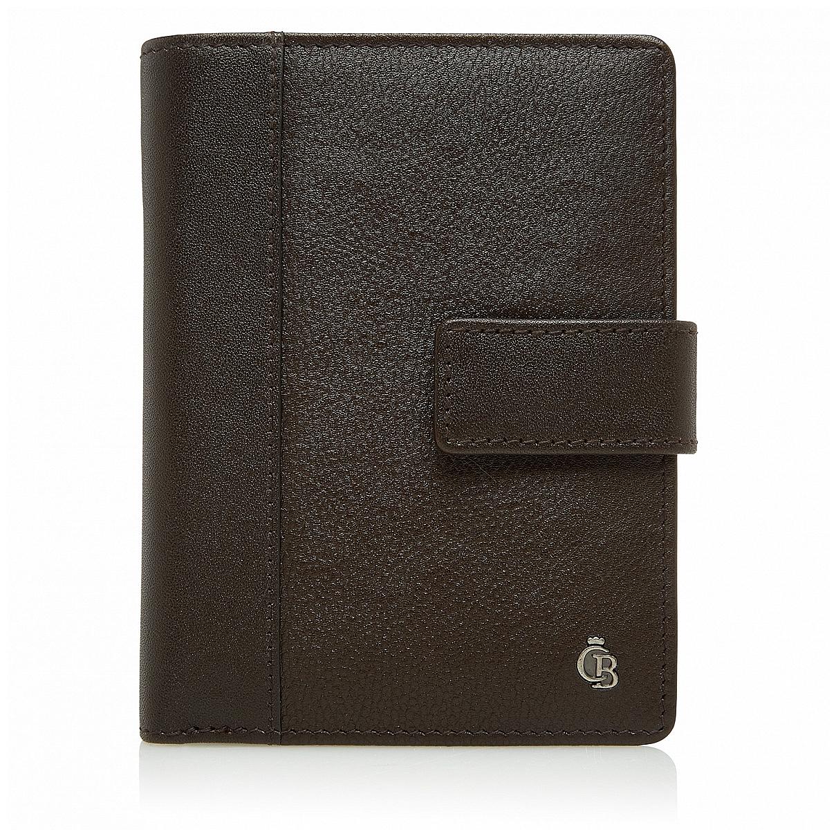 Castelijn & Beerens Pánská kožená peněženka RFID 695415 hnědá