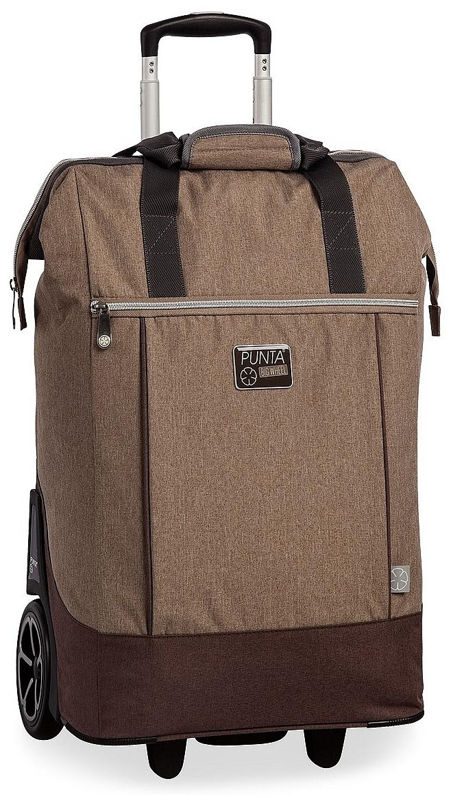 PUNTA wheel Velká nákupní taška na kolečkách 10303-2900 béžová