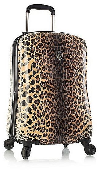 Heys Skořepinový kufr Leopard Panthera S 13073-3041-21 hnědo-béžový