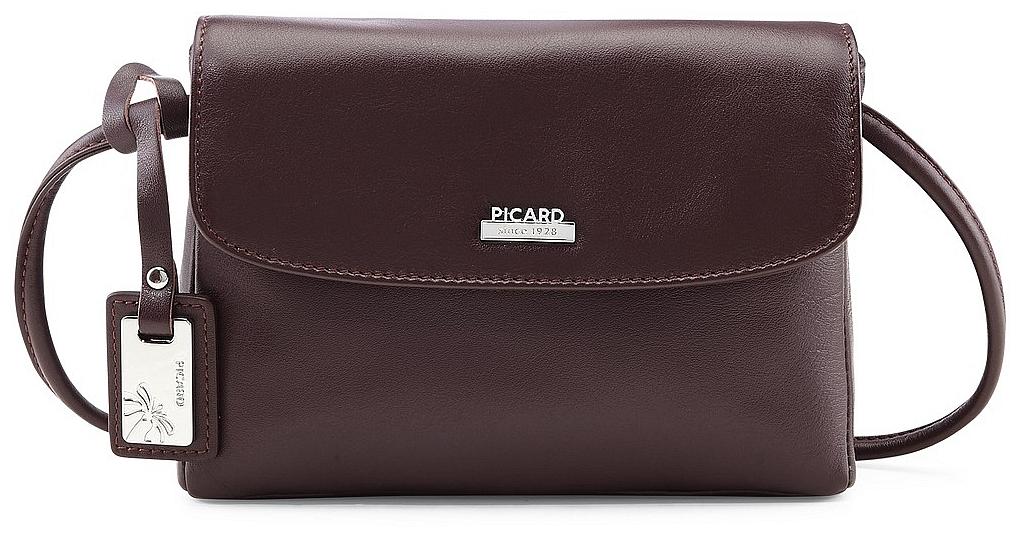 c3a94ad080 PICARD Kožená kabelka REALLY 8035 vínově červená