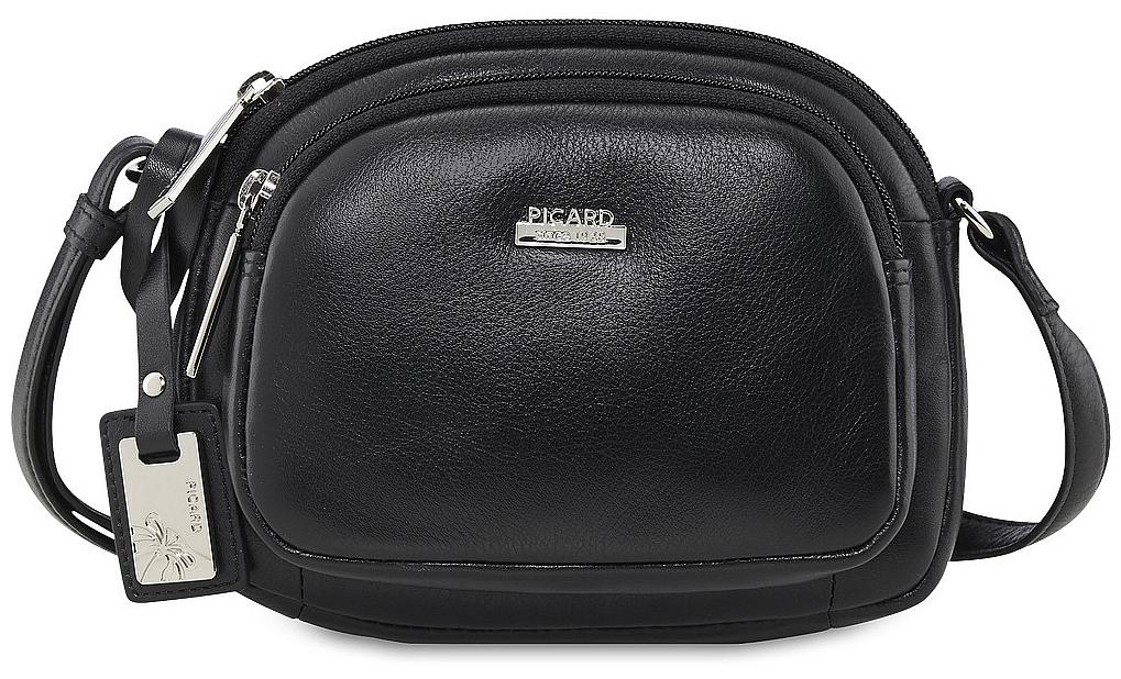 PICARD Kožená kabelka REALLY 8563 černá