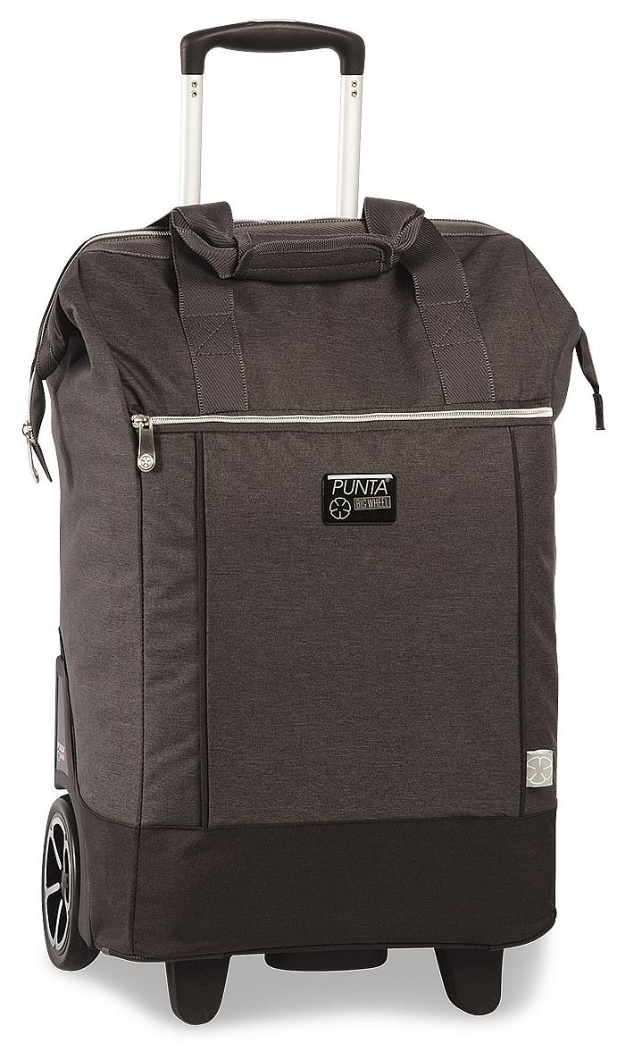 PUNTA wheel Velká nákupní taška na kolečkách 10303-1700 tmavě šedá