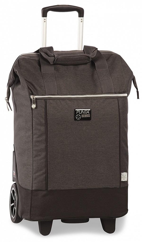 e6e05cd6712 PUNTA wheel Velká nákupní taška na kolečkách 10303-1700 tmavě šedá ...