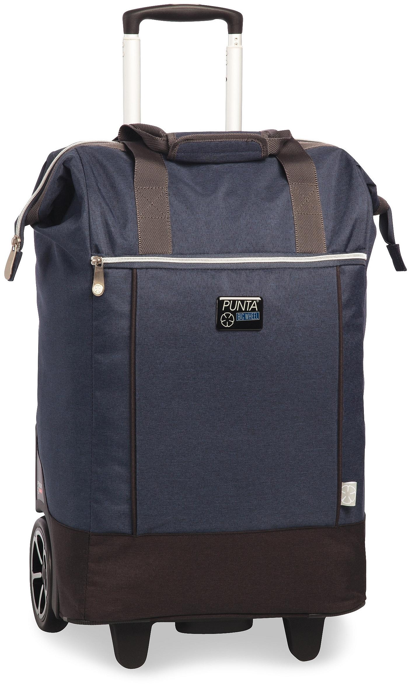 PUNTA wheel Velká nákupní taška na kolečkách 10303-0600 tmavě modrá