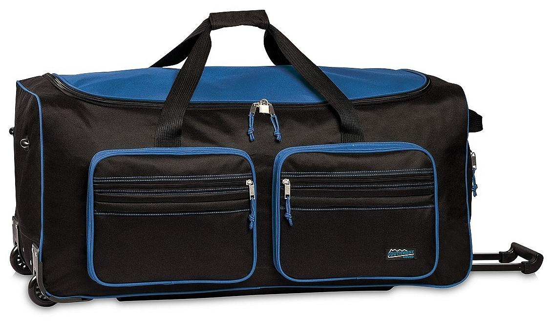 Southwest XXL cestovní taška na kolečkách 30059-0150 černo-modrá