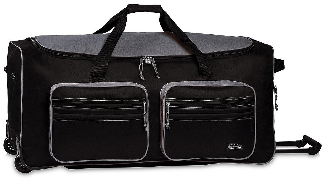 Southwest XXL cestovní taška na kolečkách 30059-0117 černo-šedá