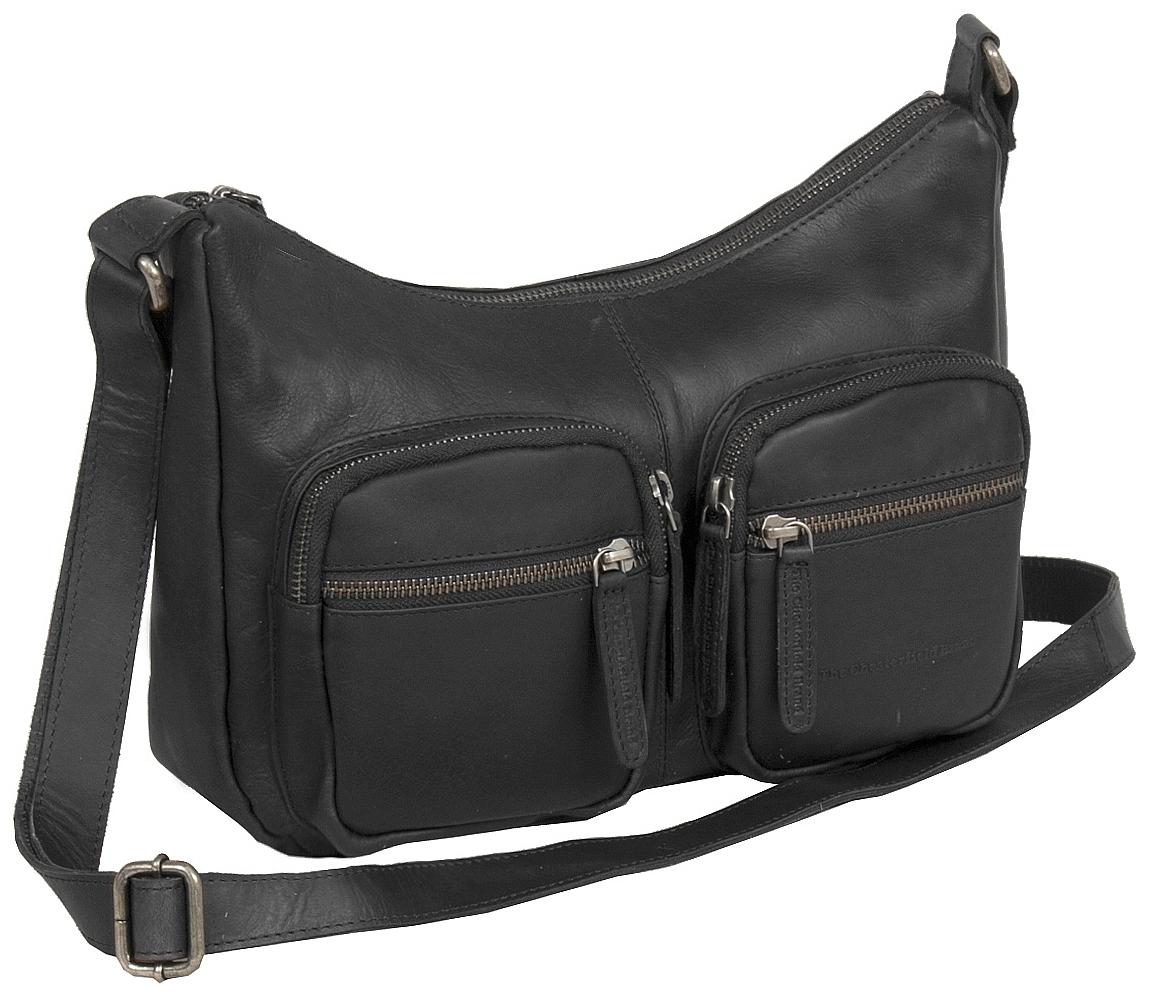 The Chesterfield Brand Kožená kabelka přes rameno Victoria C48.080100 černá d018422a80e