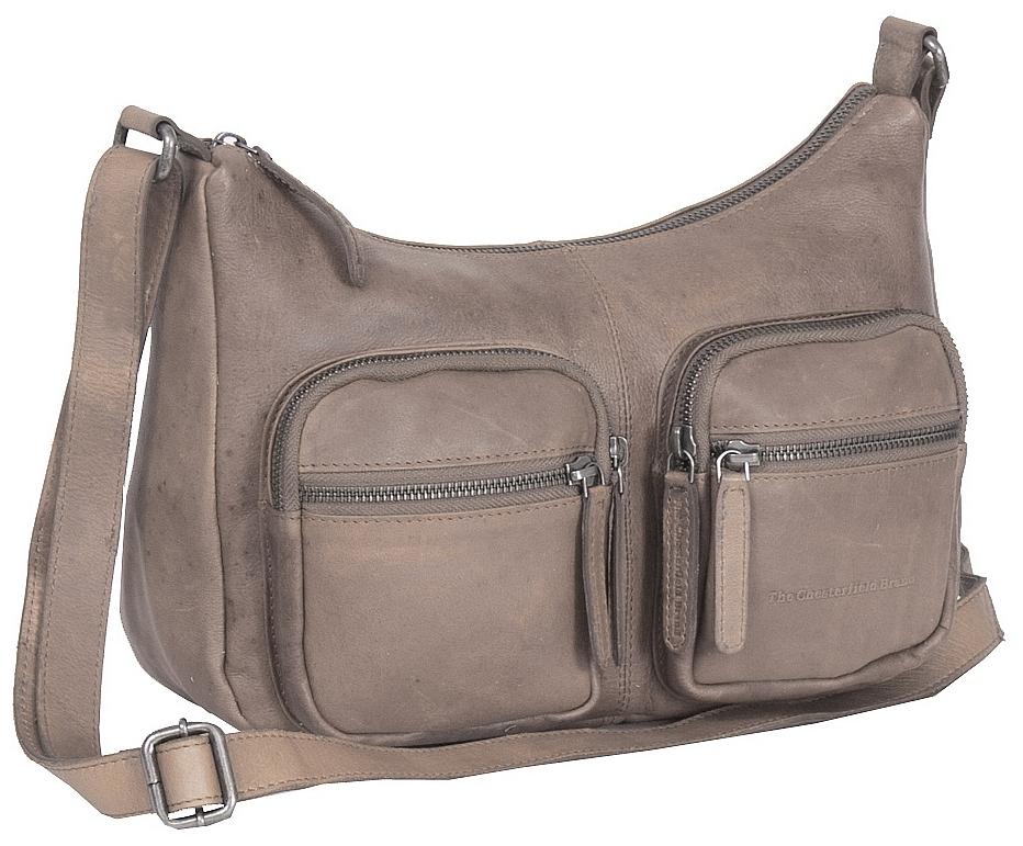 The Chesterfield Brand Kožená kabelka přes rameno Victoria C48.080139 taupe bebd38d0602