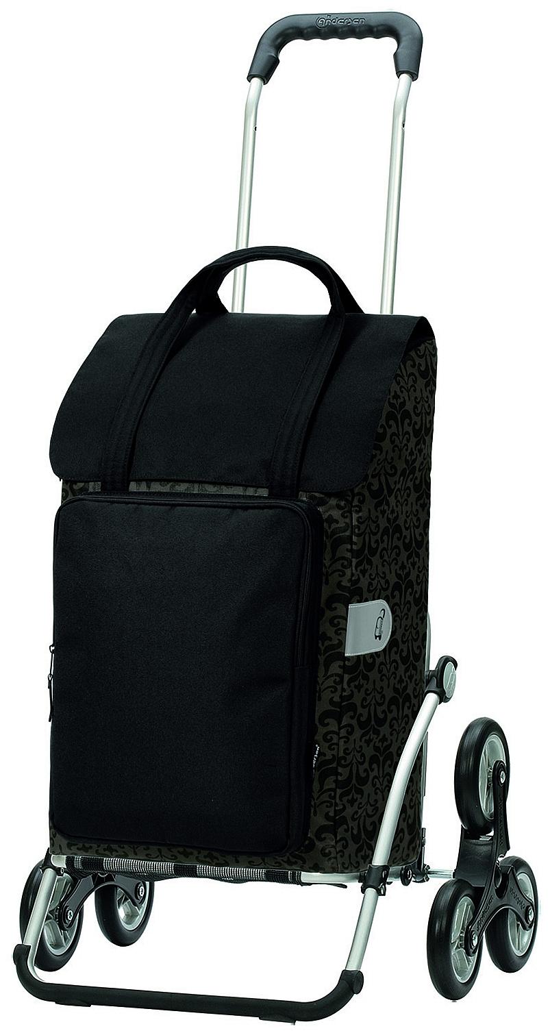 Andersen Nákupní taška schodolez na kolečkách ROYAL SHOPPER® MIMI 169-129-80 černá