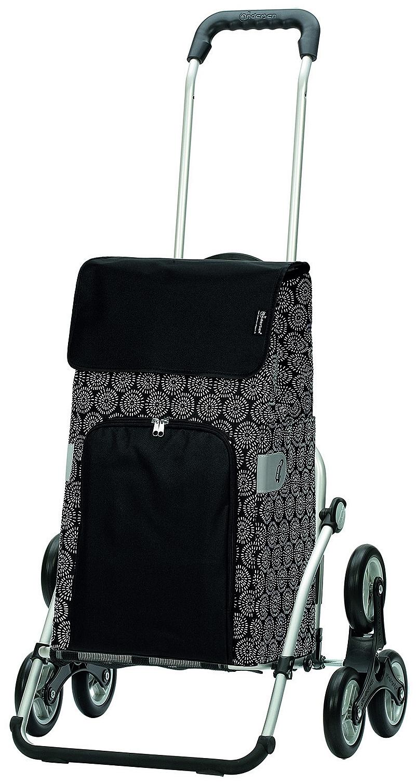 Andersen Nákupní taška schodolez na kolečkách ROYAL SHOPPER® HENNI 169-125-80 černá
