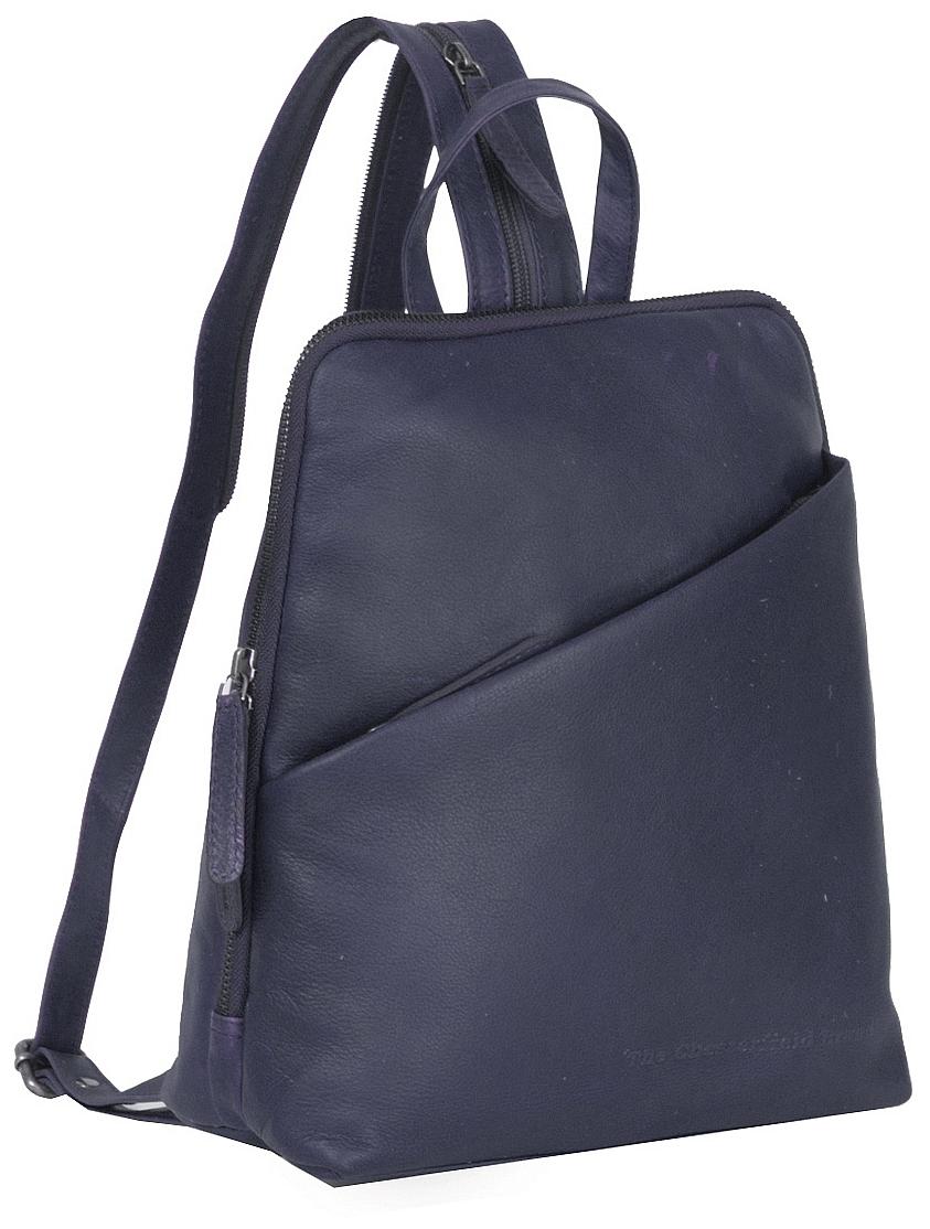 88756e29836 The Chesterfield Brand Dámský kožený batoh do města Claire C58.023510 navy