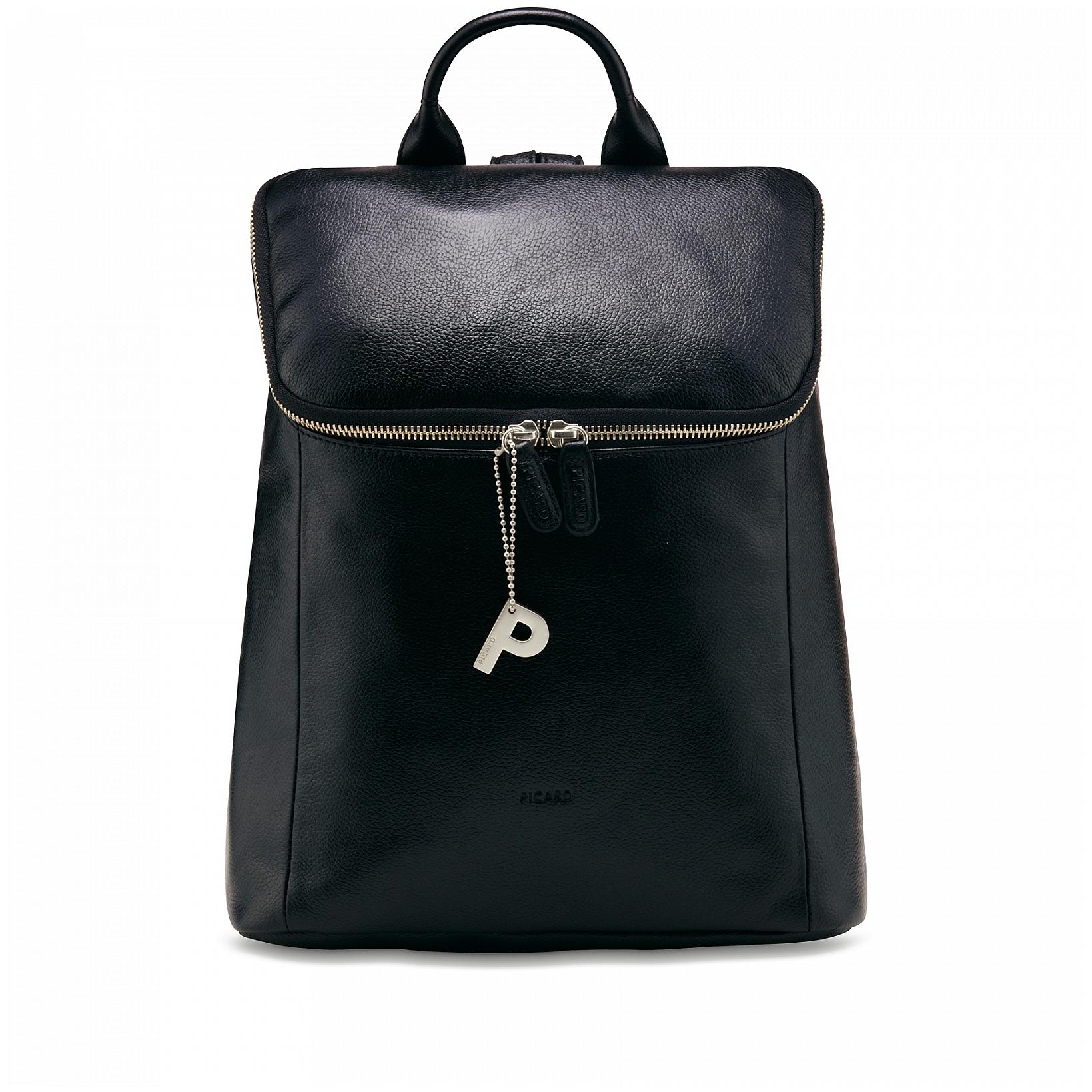 132f21bac4 PICARD Stylový dámský kožený batoh LUIS 8634 černý