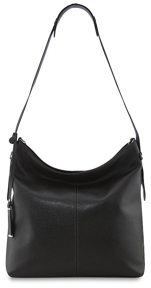 PICARD Kožená kabelka přes rameno Daily 8762 černá