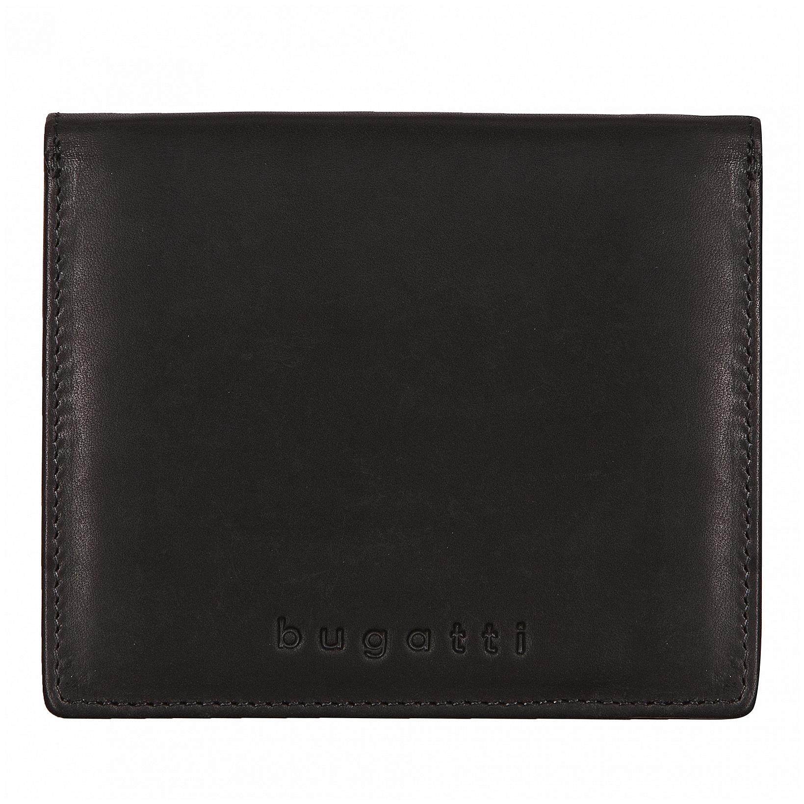 Bugatti Pánská kožená peněženka RFID Romano 49399501 černá