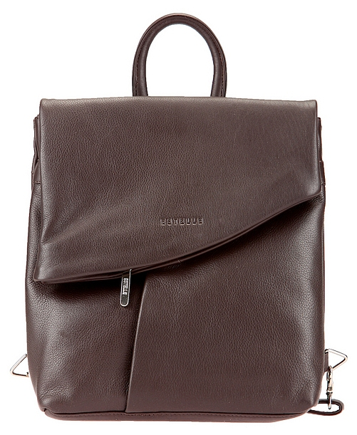 ESTELLE Dámský kožený batoh 0144 tmavě hnědý