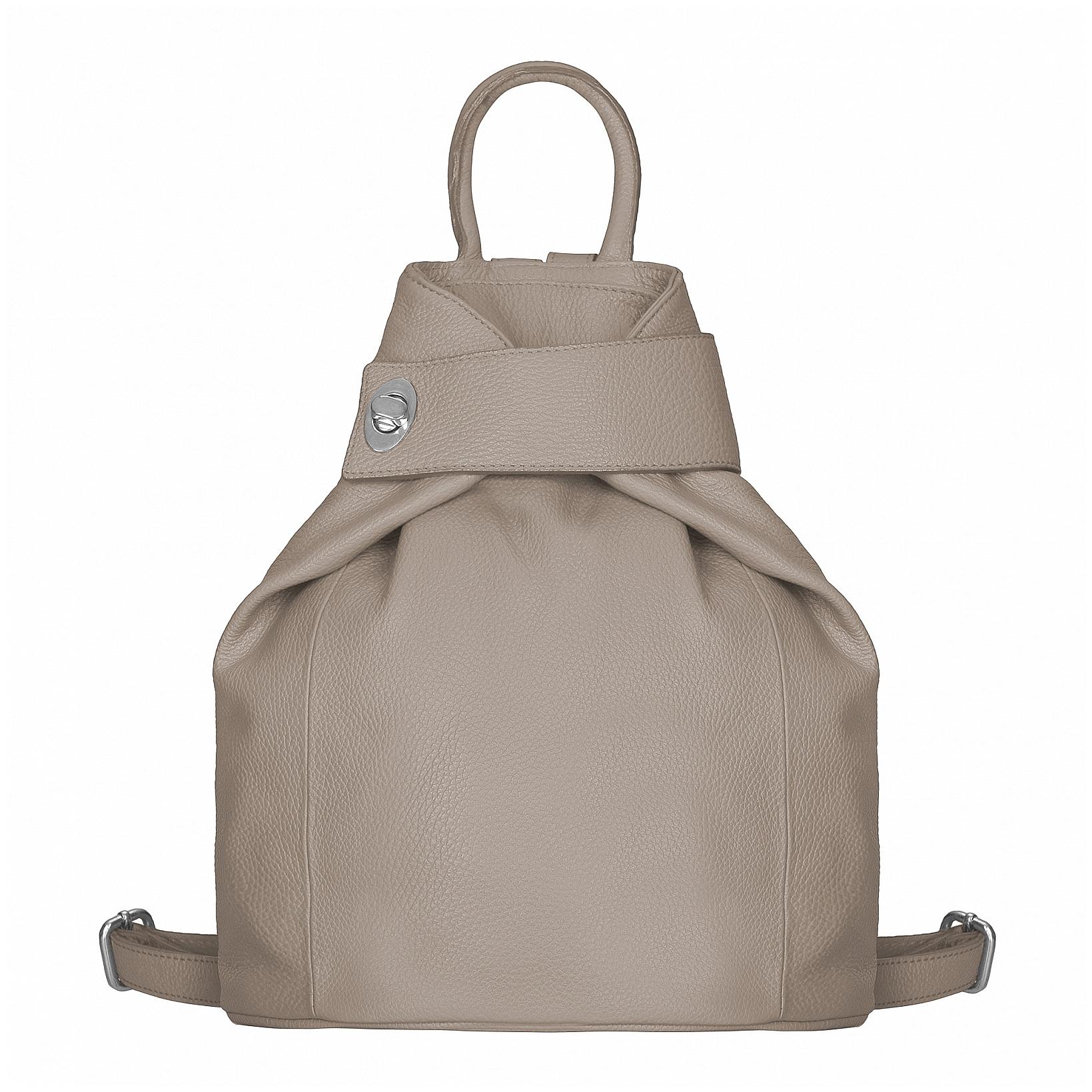 ESTELLE Dámský kožený batoh 0960 béžový
