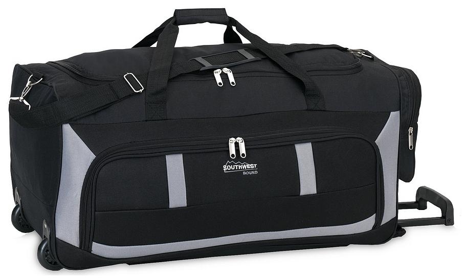 Southwest Cestovní taška na kolečkách 30180-0128 černo-šedá