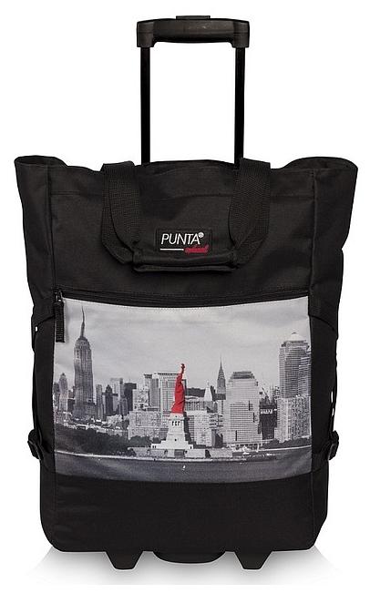 PUNTA wheel Nákupní taška na kolečkách 10008-0102 černá