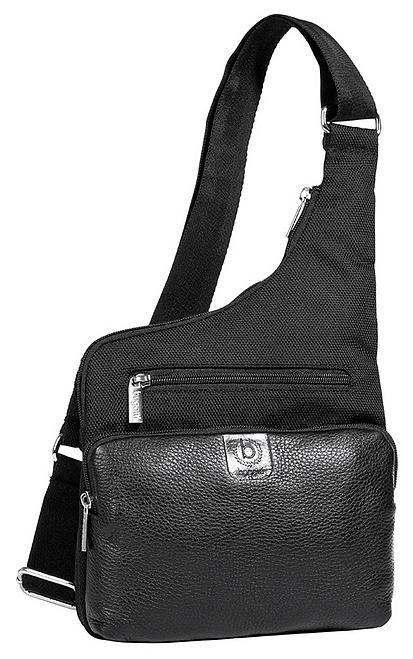 Bugatti Body bag - taška přes rameno BASEL 49425301 černá