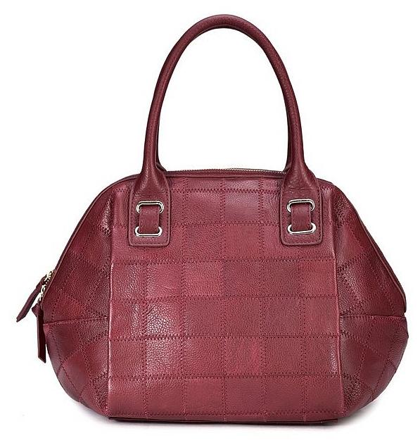 DuDu Italská kožená kabelka Becky M1310007104 bordeaux