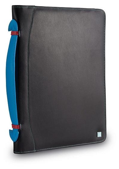 DuDu Kožené desky na iPad tablet 534103801 černá