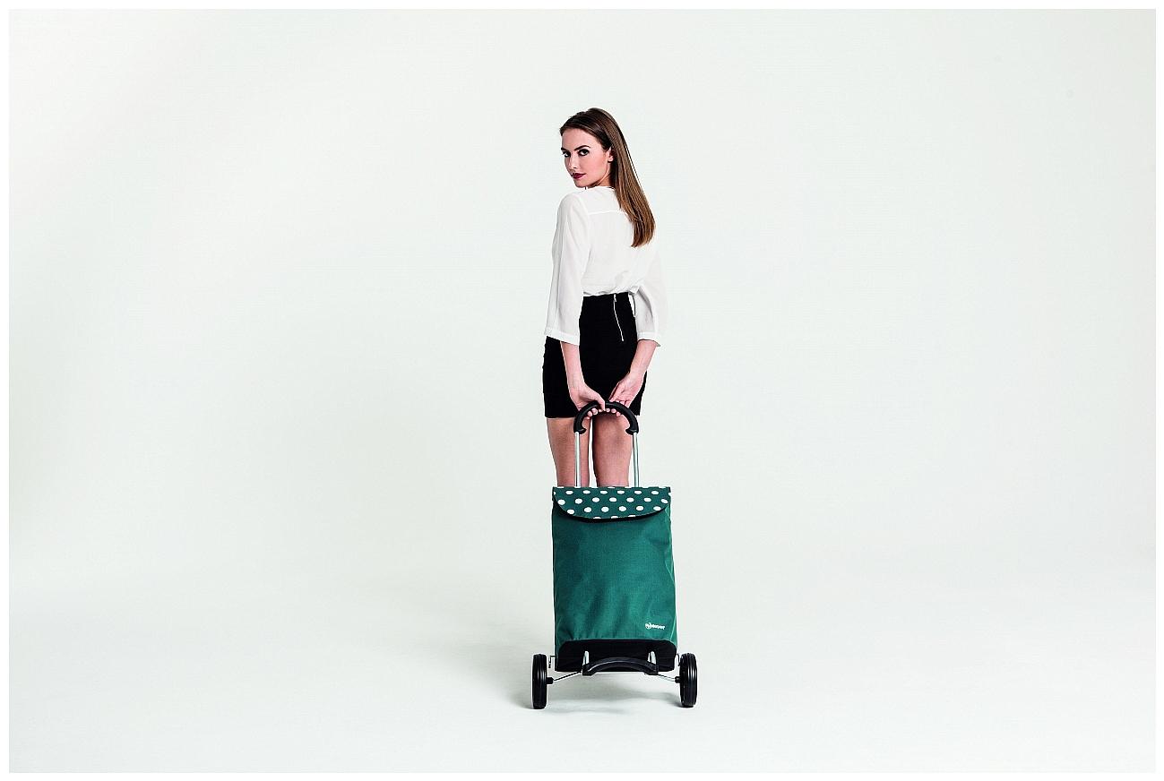 Andersen Nákupní taška na kolečkách SCALA SHOPPER® ELBA 112-051-90 petrol