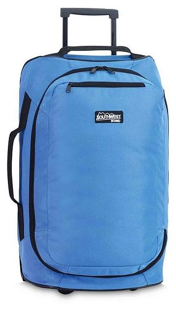 Southwest Cestovní taška na kolečkách 30217-4600 modrá