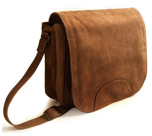 Hamosons Dámská kabelka z buvolí kůže 577 hnědá 4ea4c7e1dd