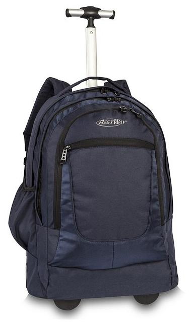 BestWay XL batoh na kolečkách s vysouvací rukojetí 40154-0600 modrý