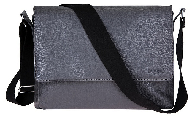 Bugatti Messenger taška BOSTON L 49572449 šedá