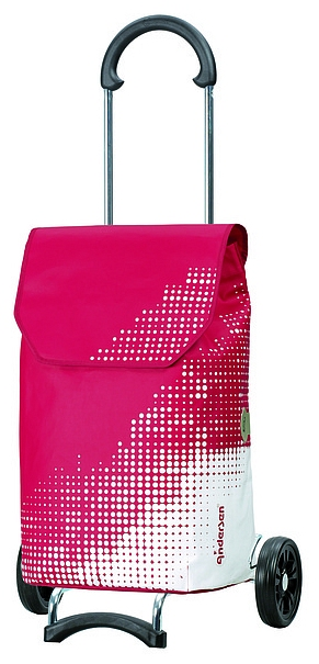 Andersen Nákupní taška na kolečkách SCALA SHOPPER® LEXY 112-061-70 červená