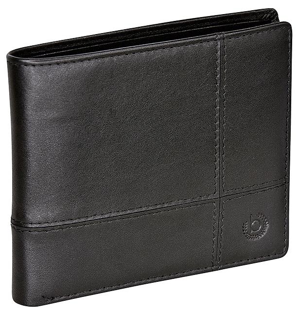 Bugatti Pánská kožená peněženka BRADFORD 49310101 černá